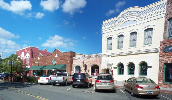 downtown historic Fernandina beach